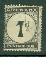 Grenada: 1921/22   Postage Due  SG D11     1d    Used - Grenade (...-1974)