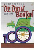 FORE  ILLUSTRATEUR PUBLICITÉ CENTENAIRE DE DION BOUTON AUTOMOBILE - Fore