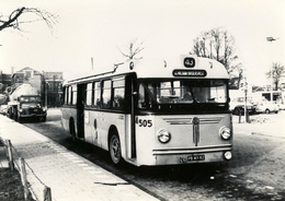 Bus Hainje,%05, Serie 501-585, Schiedam, Broersvest 1964, SVA - Auto's
