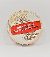 Capsules Ou Plaques De Muselet   BIÈRE  BRASSERIE DU MONT BLANC - Bière