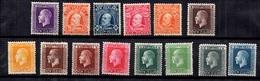 Nouvelle-Zélande 14 Timbres Anciens Neufs * 1909/1922. Bonnes Valeurs. B/TB. A Saisir! - 1855-1907 Colonie Britannique