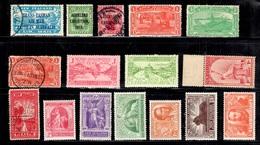 Nouvelle-Zélande Belle Petite Collection De Bonnes Valeurs 1906/1940. B/TB. A Saisir! - Nouvelle-Zélande