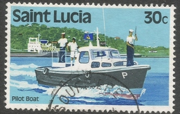 St Lucia. 1980 Transport. 30c Used. SG 542 - St.Lucia (1979-...)