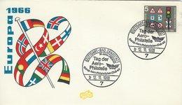 Tag Der Aero Philatelie 1966. Germany.   H-1588 - Stamp's Day