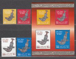 Oman - Correo Yvert 470/3+Hb 19 ** Mnh - Oman