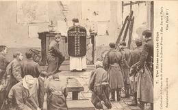 CPA 1914-18  Une Messe Sous Les Obus  ( Non Voyagé ) - Guerre 1914-18
