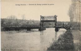 D80 - LONG - CHEMIN DU HALAGE PENDANT LA GUERRE - France
