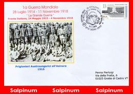 ANNULLO VESTIGIA DELLA GRANDE GUERRA IN SARDEGNA - Sassari - 6. 1946-.. Repubblica