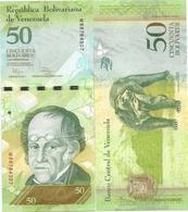 Venezuela 50 Bolivares 2011. UNC - Venezuela