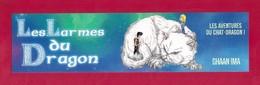 Marque Page Les Larmes Du Dragon.  Ghaan Ima.  Chat.   Bookmark. - Bookmarks