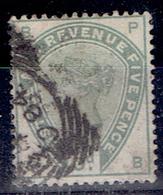 TP - GRANDE BRETAGNE De 1883 - N° 82 - Ob - TB - 1840-1901 (Victoria)