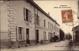 Cp Corbas Rhone, Hotel Du Commerce - Autres Communes