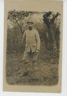 GUERRE 1914-18 - Carte Photo Militaire Du 23ème D'Artillerie 42ème Batterie De 90 9ème Pce Secteur Postal 181 Datée 1915 - Guerre 1914-18