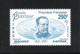 POLINESIA FRANCESE - 1995  Valore Nuovo S.t.l. Da 290 F.- CENTENARIO DELLA MORTE DI PASTEUR - In Ottime Condizioni. - Nuovi