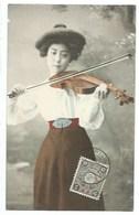 CHINE - TIEN-TSIN - Violoniste - CPA - Cina