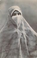 ALGERIE Types D'Afrique Du Nord Femme Voilée - Algérie