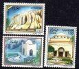 Algérie N ° 924 / 26 XX  Thermalisme En Algérie Les 3 Valeurs Sans Charnière TB - Algérie (1962-...)