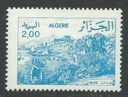 Algérie N° 803a XX Série Courante : Vues D'Algérie : 2 D. Variété Cadre Du Dessin Plus Petit, Sans Charnière, TB - Algérie (1962-...)