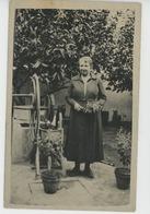 CORSE - CASTIGLIONE - Belle Carte Photo Portrait Femme Près D'un Puits Datée 1935 - Autres Communes