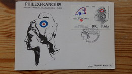 Philex France 89 - Cartes Maximum