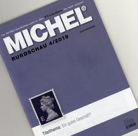 Briefmarken Rundschau MICHEL 4/2019 New 6€ Stamps Of The World Catalogue/magacine Of Germany ISBN 978-3-95402-600-5 - Chroniques & Annuaires