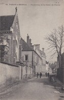 CPA Paray Le Monial, Faubourg De La Croix De Pierre, Vue De La Rue  1911(lot Pat 64) - Paray Le Monial