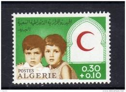 Algérie N ° 446  XX Surtaxe Au Profit Du Croissant-Rouge Sans Charnière TB - Algérie (1962-...)