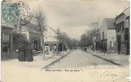 ~  JP   ~  95  ~    MERY  SUR OISE      ~   Rue De PARIS     ~ - Mery Sur Oise