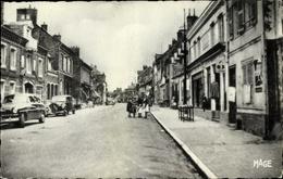 Cp Gamaches Somme, La Grande Rue - Autres Communes