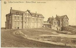 Braine - L' Alleud -- Collège Cardinal Mercier - Façade Principale.     (2 Scans) - Braine-l'Alleud