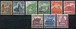 ALLEMAGNE (IIIe REICH) N°675/683 ** SECOURS D'HIVER CHATEAUX ET MONUMENTS - Allemagne