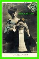 COUPLES - COUCOU - DEVINEZ ! ! ! - CIRCULÉE EN 1906 - - Couples