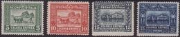 505 Eritrea ** 1910/14 – Soggetti Africani N. 34/37. Cert. Raybaudii. Cat. € 2000,00. MNH - Eritrea