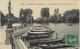 ~  JP   ~  95  ~   ENGHEIN LES BAINS        ~  La Nouvelle  Jetée   Sur Le Lac    ~ - Enghien Les Bains
