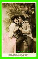 COUPLES - FAIRE LE VENDANGE EST PLEIN DE DOUCEUR, UN TENDRE BAISER NE FAIT JAMAIS PEUR - M. F. - - Couples