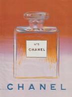 Publicité Papier  - Advertising Paper - N°5 De Chanel  Recto Verso - Advertising