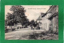 19 - Masseret (corrèze) - Faubourg De La Route - Animée  CPA Année 1919 état Moyen Voir Scannes Recto Verso - France