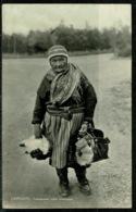 Ref 1279 - Early Ethnic Real Photo Postcard - Old Women Lappgumma - Lappland - Sweden - Europe