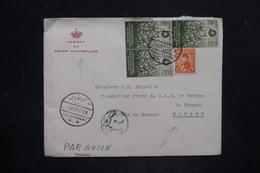 EGYPTE - Enveloppe Du Grand Chambellan Pour Le Conseiller Privé Du Prince De Monaco En 1951 - L 25807 - Égypte