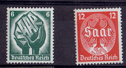 TP - ALLEMAGNE - De 1934 - N° 509 ET 510 XX - Neufs - Allemagne