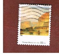 STATI UNITI (U.S.A.) - SG 3487  - 1998 AMERICAN ART: T. MORAN  (FROM BF)  - USED - Oblitérés