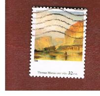 STATI UNITI (U.S.A.) - SG 3487  - 1998 AMERICAN ART: T. MORAN  (FROM BF)  - USED - Estados Unidos