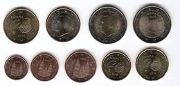 2019-ESPAÑA. JUEGO AÑO 2019 COMPLETO (9 Monedas) SIN CIRCULAR - Espagne