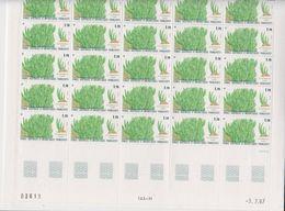 TAAF 1988 Plants 1v Complete Sheetlet With Full Margings ** Mnh (TA227) - Ongebruikt