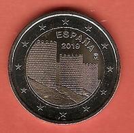 2019-MONEDA 2 EUROS. La Muralla De Ávila . SIN CIRCULAR - Spanje