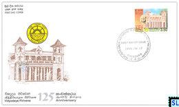Sri Lanka Stamps 1999, Vidyodaya Pirivena, Buddha, Buddhism, FDC - Sri Lanka (Ceylon) (1948-...)
