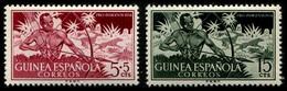 1954 Spain (Guinea) (2) - Guinée Espagnole