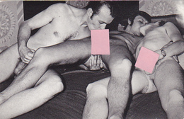 Cpa / Photo-nu-scéne érotique-porno-vintage-masculin Gay Homosexuel - 2 Hommescpa / Photo-nu-scéne érotique-porno-vintag - Nus Adultes (< 1960)