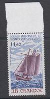TAAF 1987 J.B. Charcot / Sailing Ship 1v ** Mnh (TA228) - Ongebruikt