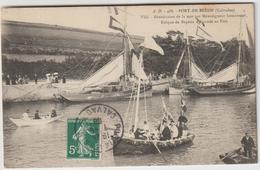Calvados :  PORT  En  BESSIN  :  Bénédiction  De La Mer Par Monseigneur Lemonnier , évêque De  Bayeux - Port-en-Bessin-Huppain